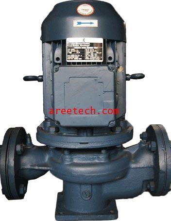ปั้มน้ำ Crompton Greaves Vertical in line pump  รุ่น ILM  22