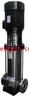 ปั้มน้ำ WESCO Light Vertical Multistage Centrifugal pump  รุ่น CDLF 2-70