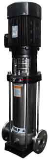 ปั้มน้ำ WESCO Light Vertical Multistage Centrifugel pump รุ่น CDLF 4-40