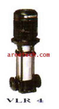 ปั้มยืนแบบหลายใบพัด  ยี่ห้อ PENTAIR  NOCCHI  VLR SERIES  รุ่น  VLR16 - 60FT