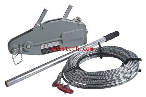 รอกสลิงมือโยก / รอกตะพาบ ยี่ห้อ MAX PULLER WIRE ROPE WINCH รุ่น MP-800