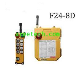 สวิตซ์กดปุ๋มรอกไร้สาย  Remote Controller ยี่ห้อ TELECRANE  รุ่น F24 - 8D +