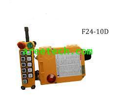 สวิตซ์กดปุ๋มรอกไร้สาย  Remote Controller ยี่ห้อ TELECRANE  รุ่น F24 - 10D +