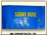 สายส่งน้ำพีวีซีSUNNY HOSE (PVC Lay Flat Hose)