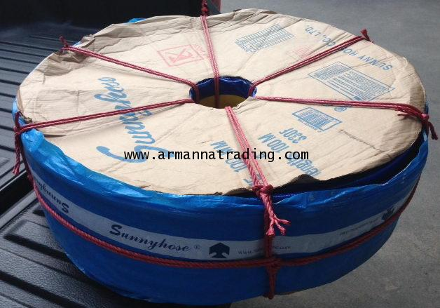 สายส่งน้ำพีวีซีSUNNY HOSE (PVC Lay Flat Hose) 2