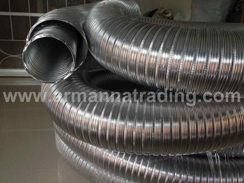 ท่ออลูมิเนียมวินเฟล็กซ์ Winnd Flex Aluminium Flexible Duct