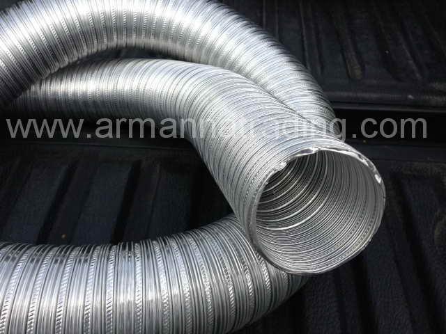 ท่ออลูมิเนียมวินเฟล็กซ์ Winnd Flex Aluminium Flexible Duct 1