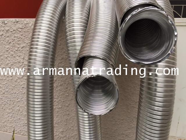 ท่ออลูมิเนียมวินเฟล็กซ์ Winnd Flex Aluminium Flexible Duct 4