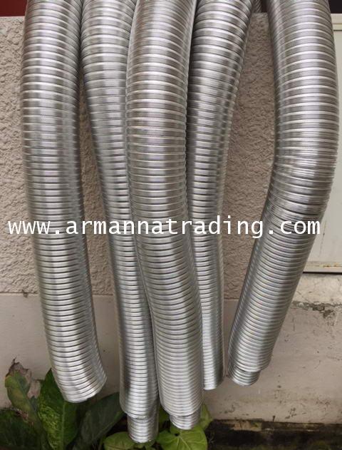 ท่ออลูมิเนียมวินเฟล็กซ์ Winnd Flex Aluminium Flexible Duct 5