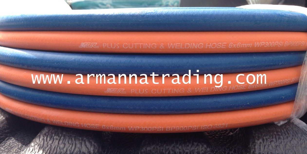 สายลมคู่NCR, สายเชื่อมคู่NCR, สายลมคู่, สายเชื่อมคู่ (Twin Welding Hose Premium Grad)