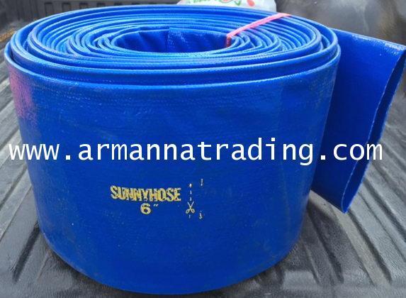 สายส่งน้ำพีวีซีSUNNY HOSE (PVC Lay Flat Hose) 1