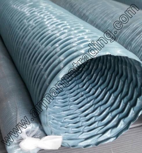 ท่อผ้าใบทาร์โพลีน(สีฟ้า)
