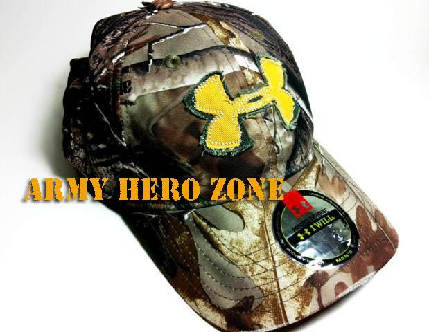 หมวก Under Armour : Real Tree Camo Cap