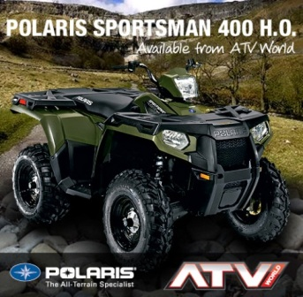 รถ ATV POLARIS SPORTSMAN 400ho 4X4