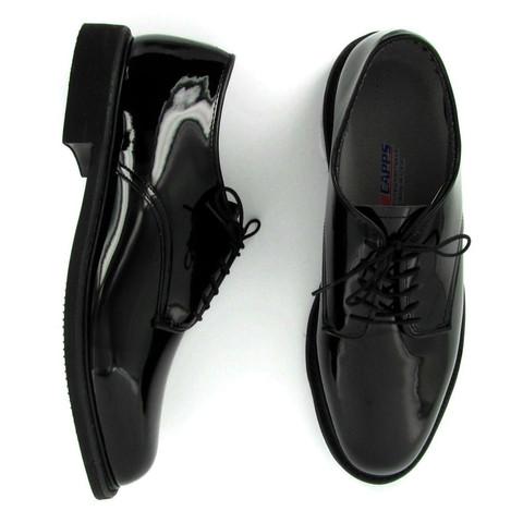 รองเท้าหนังแก้ว Colonel Black Shiny USA