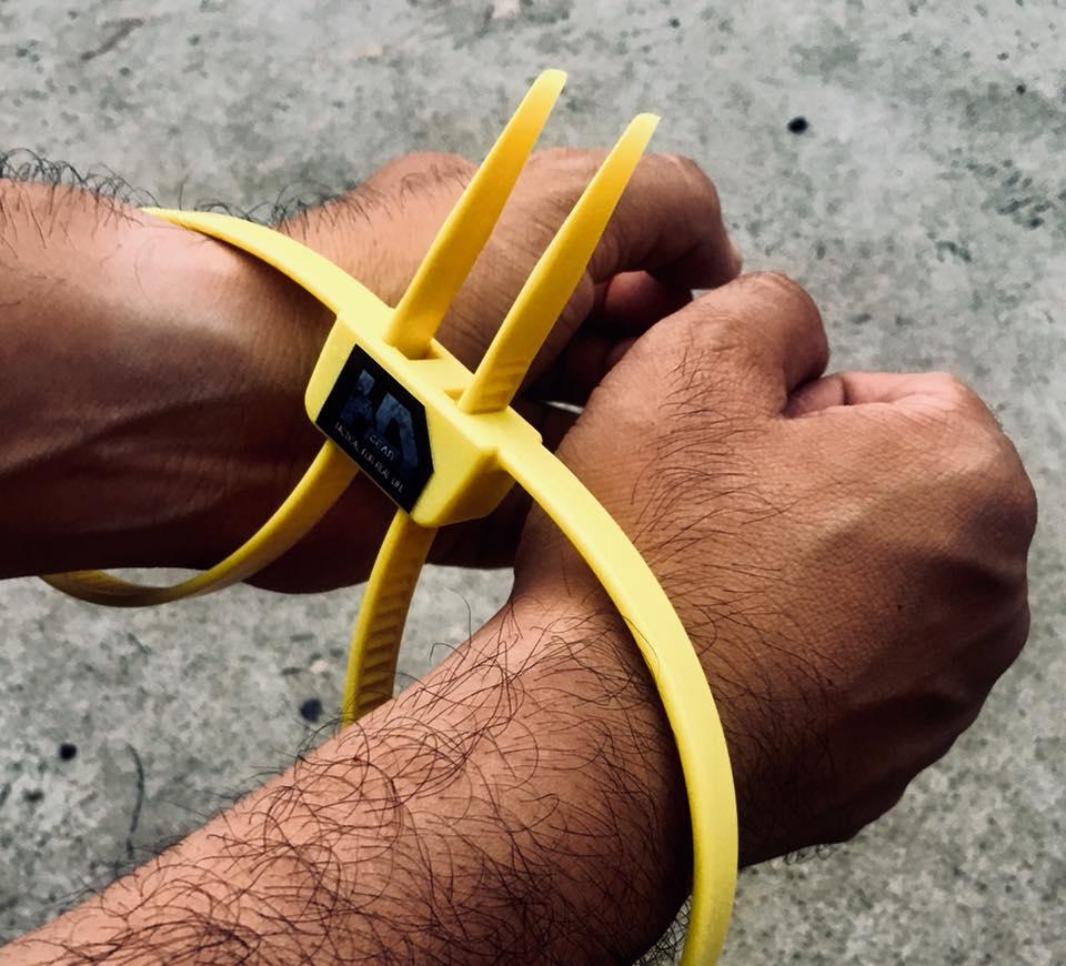 AH - Training Plastic HandCuff