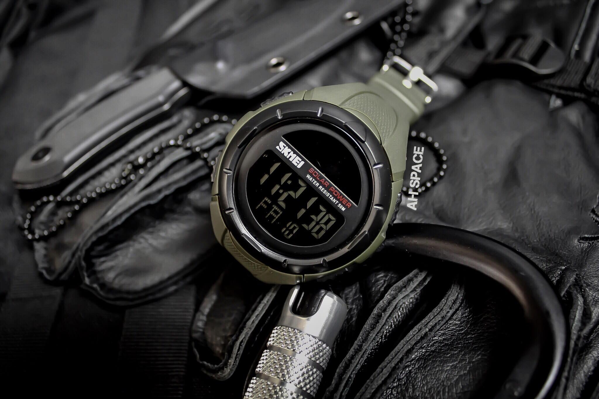 นาฬิกา SKMEI SOLAR TAC