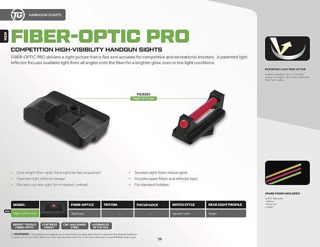 Truglo Fiber Optic Pro