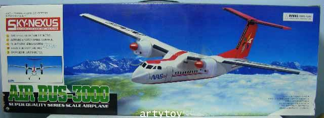 Air Bus-3000  เครื่องบินบังคับ 2 CH ลำใหญ่ เล่นง่าย บินดี