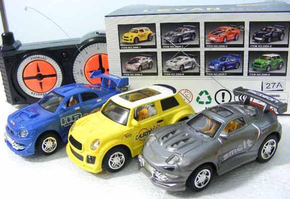 รถเก๋งจิ๋วงานสวยบังคับวิทยุ  มีไฟเวลาเล่น แรง เร็วด้วย speed Turbo