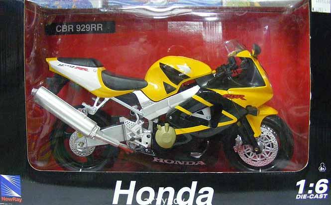 รถโมเดล Honda CBR 929RR Scale 1:6