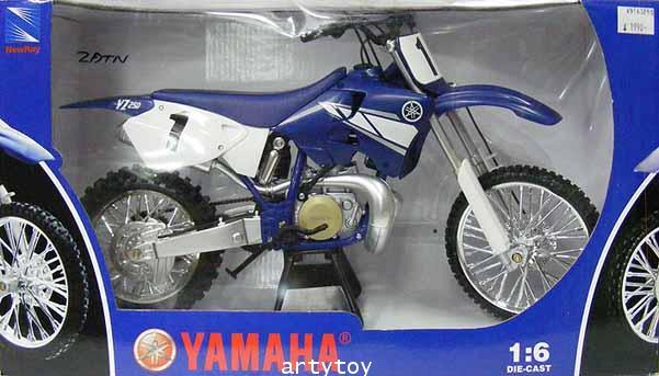 รถโมเดล Yamaha YZ250  Scale 1:6