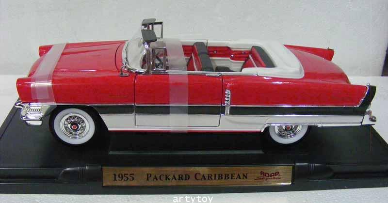 รถโมเดล 1955 PACKARD CARIBBEAN Scale1:18