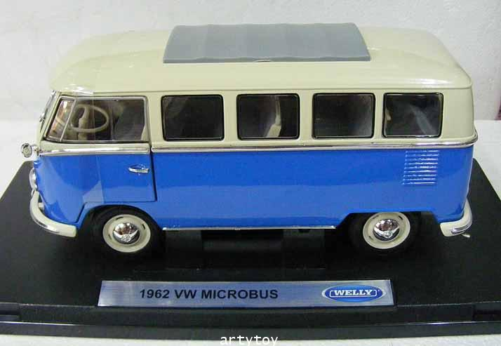 1962 VW MICROBUS Scale1:18