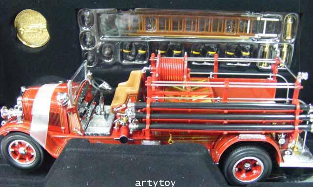 โมเดลรถดับเพลิง รุ่นปี 1932 Buffalo Type 50 Scale 1:24