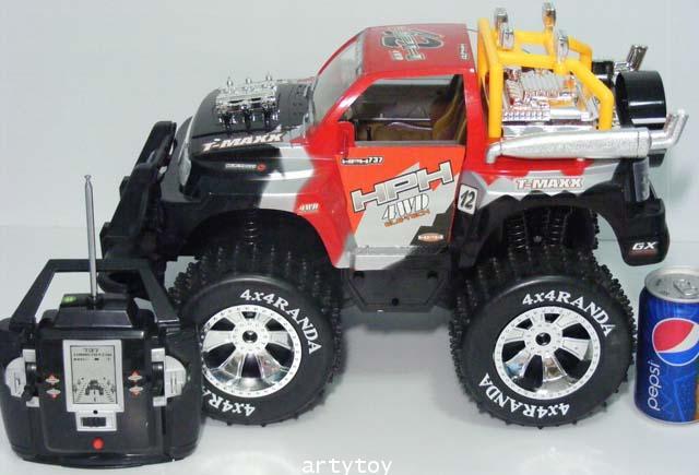 รถบิ๊กฟุต 4x4 Scale 1:8 (ZLTN) แรง ลุยดี เล่นมันส์สะใจ มีไฟและเสียงเครื่องยนต์