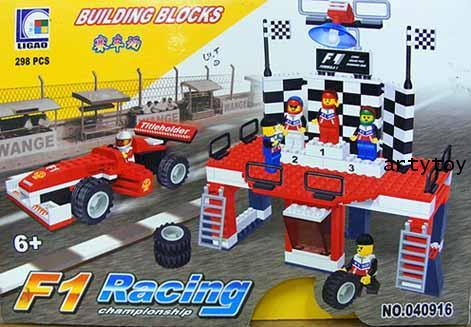 ตัวต่อชุด รถแข่งฟอมูล่าวัน F1 Racing Champion (298 ชิ้น)