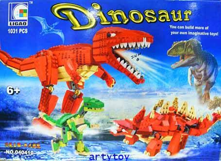 ตัวต่อชุด ไดโนเสาร์โลกล้านปี  (1,033 ชิ้น)