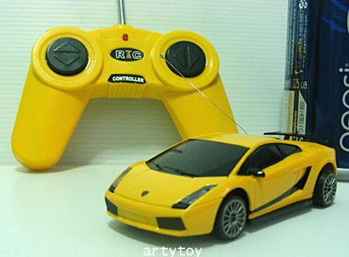 รถสปอร์ต Lamborghini(ลัมบอร์กอนี่) บังคับวิทยุ  Scale1:41 จิ๋วแต่แจ๋ว  สินค้าคุณภาพตั้งโชว์ได้