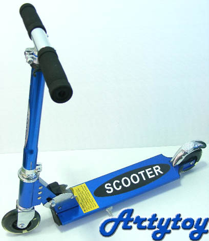 สกูตเตอร์(Scooter) 2 ล้อ ล้อมีไฟ  ปรับระดับความสูงได้