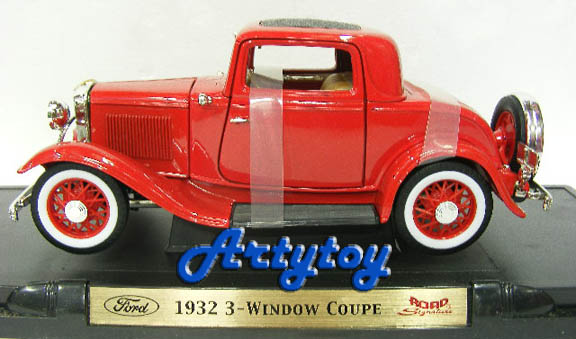 Ford 1932 : 3-Window Coupe  SCALE 1:18