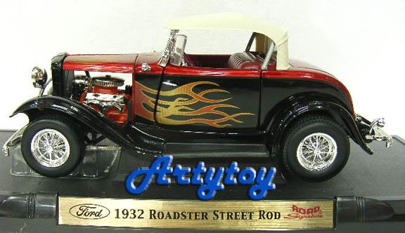 Ford 1932 : Roadsteer Street Rod SCALE1:18