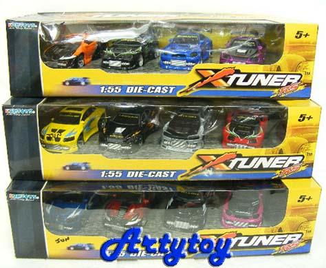Xtuner RS  รถสปอร์ตแต่ง  Die-cast nbsp;Scale 1:55 (1ชุด)