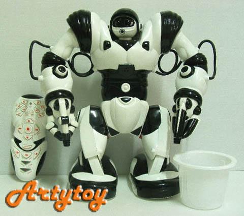 หุ่นยนต์โลกอนาคต Roboactor  หุ่นยนต์บังคับวิทยุอัจฉริยะที่สุด เคลื่อนไหวท่าทางได้เหมือนคนจริงๆ