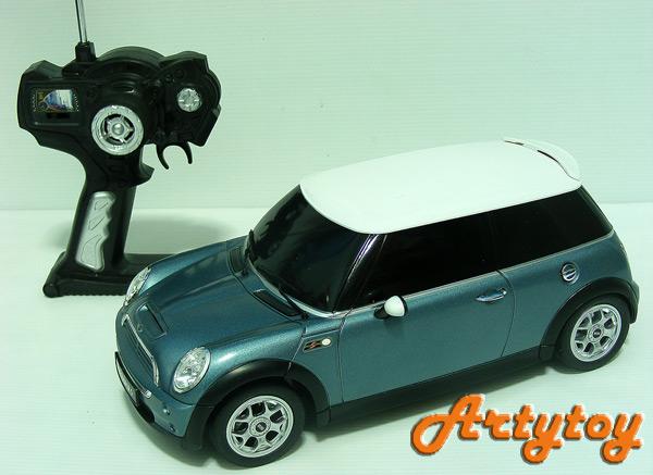 รถบังคับ Mini Cooper S  Scale 1:14 งานโมเดล สวย น่ารัก เหมือนจริง