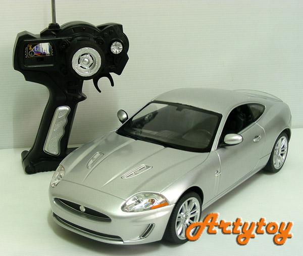 รถบังคับ Jaguar XKR  Scale1:14 งานโมเดล สวยเหมือนจริงทั้งภายนอกและภายในรถ