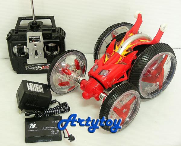 รถด้วงตีลังกา Stunt Twister  ยืดหดตัวได้ เล่นมันส์ได้ 360องศา  มีไฟมีเสียงดนตรี