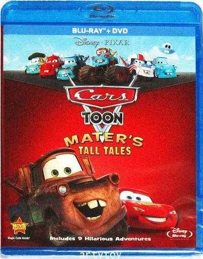 Cars Toon: Mater\'s Tall Tales (DTS ES) (Blu-ray) (U.S.A.) (Blu-ray+DVD)