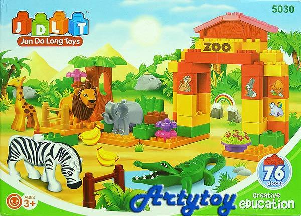 ตัวต่อชุด สวนสัตว์ซาฟารี จำนวน 76 ชิ้น