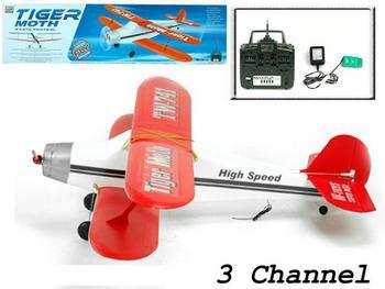 เครื่องบินบังคับวิทยุ 3CH  Tiger Moth TW-741