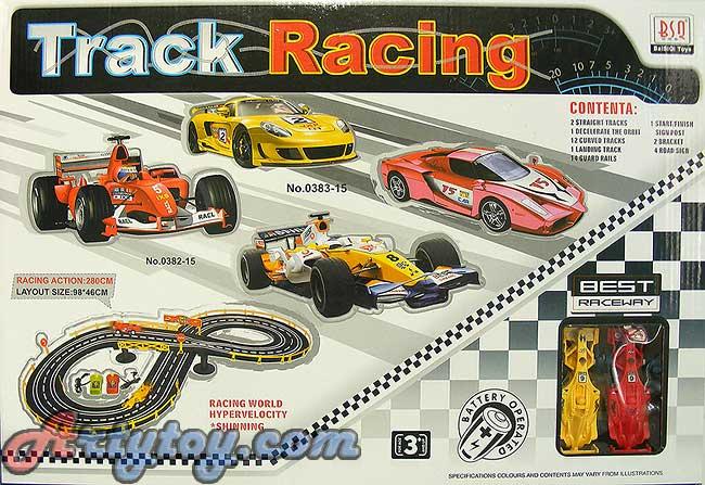 รถ F1 แข่งวิ่งราง Track Racing