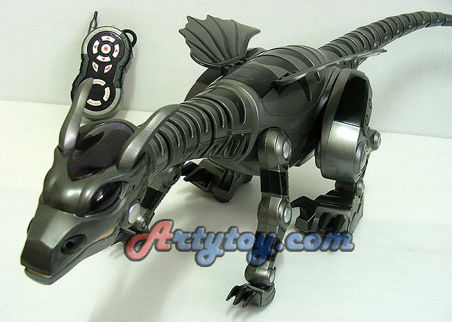 ใหม่!! Fire Dragon มังกรพ่นไฟบังคับวิทยุด้วยระบบอินฟราเรด เล่นได้เหมือนมีชีวิตจริง