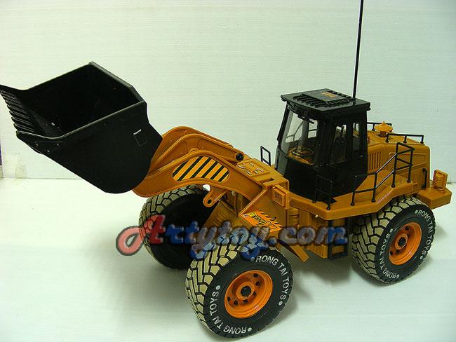 รถแทรกเตอร์เกลี่ยดินบังคับไร้สายงานโมเดล Heavy Machine แบตชาร์ต   มีไฟ เล่นเหมือนจริง