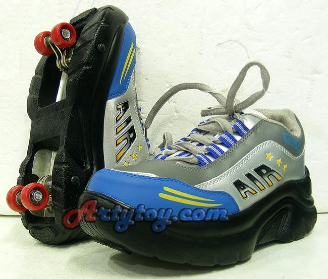 รองเท้าสเก็ต AIR (LNB) สามารถพับเก็บล้อเป็นรองเท้าได้
