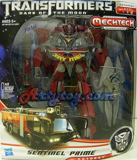 Transformers  Dark of The Moon : Mechtech : Sentinel Prime