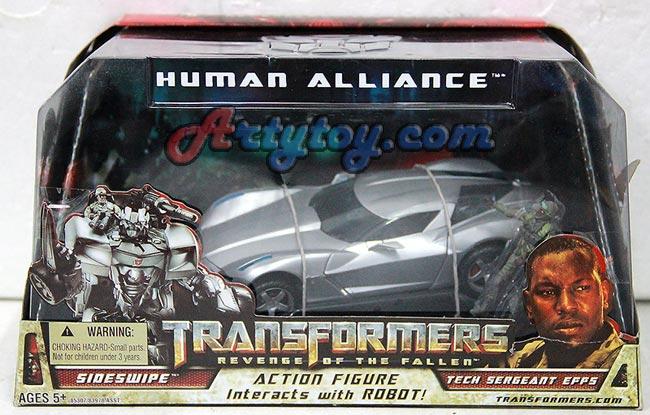 Transformers : Revenge of the fallen : Sideswipes + Tech Sergeant effs